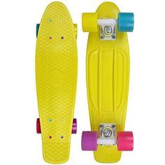 Fish Skateboard Yellow 22 Quot Quot Urban Retro Cruiser Stereo