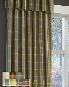 1000 Images About Drapes On Pinterest Plaid Curtains