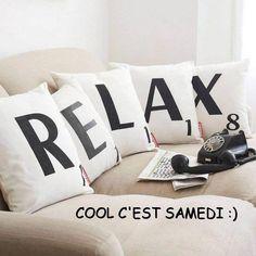 Samedi image #3089 - Relax... Cool C'est Samedi :) Tags: Canape, Detente, Relax. Partager cette photo sur Facebook, Twitter et WhatsApp.