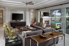 George Models, Arthur Rutenberg Homes, Great Rooms, Monaco, Living Room, Luxury, Kitchen, Cooking, Kitchens