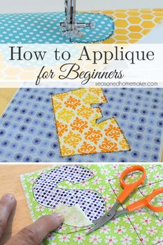 Appliqué is a fun way to express yourself. Learn How to Applique by following these simple steps. It's easier than you think.