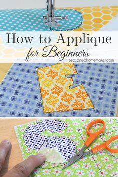 How to Applique