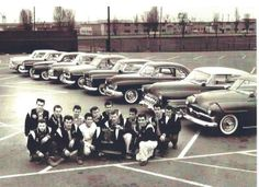 50s guys and their awesome cars (Satan's Angels Car Club, Northern California)