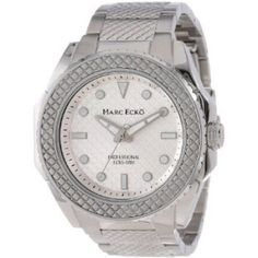 Relógio Marc Ecko Men's M15037G1 The Hirst Classic Analog Watch #Relógio #Marc Ecko