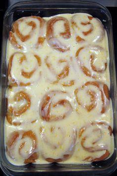 """Lemon Cream Cheese Sticky Buns"" #spring #recipe #lemon"
