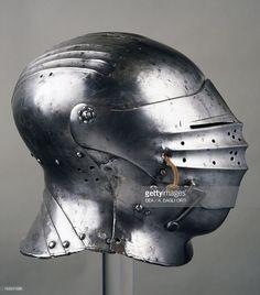 Stock Photo : Horseman's helmet, 1505-1510, in Innsbruck, Austria, 16th century