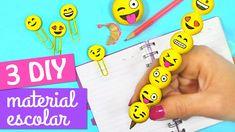 Material escolar decorado con emojis. ¡Hazlo tú mismo!  http://manualidades.facilisimo.com