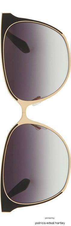 Barton Perreira Universal Fit Edie Metal/Enamel Sunglasses