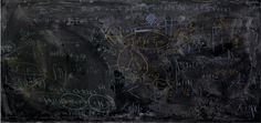 Quantum Physics Black Boards by Alejandro Guijarro