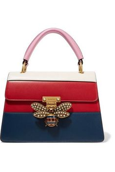 Multicolored leather (Calf) Push clasp-fastening front flap Weighs approximately 1.1lbs/ 0.5kg Made in Italy