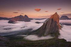 Senja Mountain, Segla, Norway