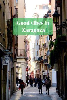 A sunny break in Zaragoza. We love the Spanish vibe and food!