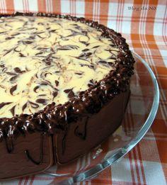 Blog da Nô: Tarte de Laranja e Chocolate - Orange and Chocolate Tart