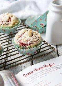 Red Velvet Cream Cheese Muffins