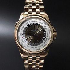Patek Philippe 5130/1R World Time Rose Gold. #watchporn #watchmania #wristwatch #watchoftheday #timepiece #secondhand #instawatch #secondoriginalwatch #jamtanganseken #preownedwatch #luxurywatch. www.mulialegacy.com