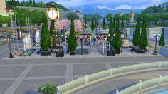 Mod The Sims: Park Relógio das Bandeiras (no cc) by JessCriss • Sims 4 Downloads