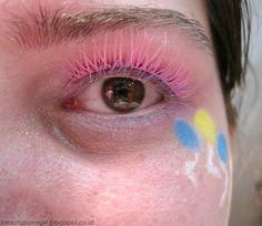 Pinkie Pie, My Little Pony, Html, Light Rose, Balloons, Make Up Eyes, Colors, Blue, Torte