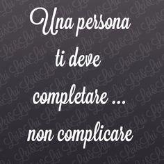 Una persona ...
