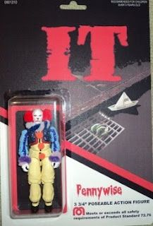 Pennywise Action Figure. This is asking for future psychosis.