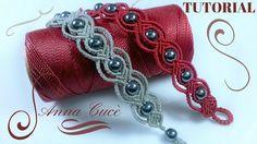 "Macrame bracelet tutorials ""Tiziana"" / Diy tutorial / Step by step"