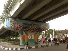 Waiting at street.  #Mural #StreetArt #UrbanArt #Jogja #Yogyakarta #IndonesiaOnly #StreetPhotography