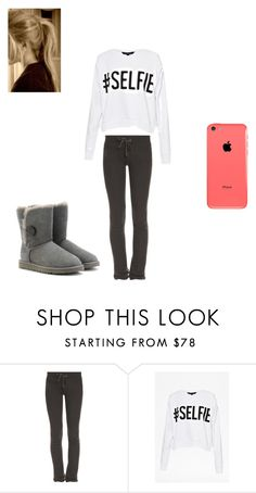 """Untitled #42"" by alyssa-batterson ❤ liked on Polyvore featuring Wildfox, French Connection and UGG Australia"