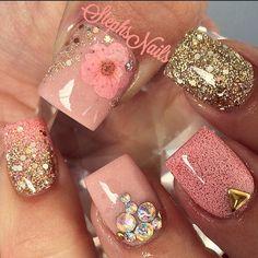 Beautiful nude nails