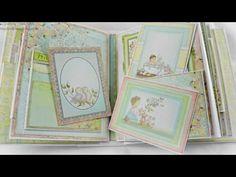 Heartfelt Creations Sweet Lullaby Baby Album - YouTube