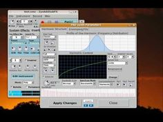 This is a simple example how to create a simple strings with ZynAddSubFX using the PADsynth module.