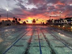 This is what morning practice looks like
