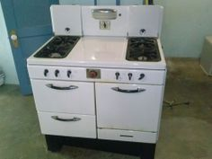 vintage white magic chef gas stove oven magicchef - Magic Chef Oven