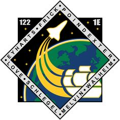 Shop STS 122 Atlantis Light Women's Classic T-Shirt designed by Best_Military_and_Space_Products. Nasa Patch, Air Force Patches, Nasa Missions, Space Projects, Space Program, Wal, First Contact, Space Shuttle, Space Travel