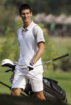 Novak Djokovic - golf player