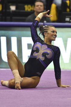 Lexie Priessman Gymnastics Music, Gymnastics Images, Gymnastics Floor, Gymnastics Poses, Artistic Gymnastics, Gymnastics Girls, Gymnastics Leotards, Hot Cheerleaders, Female Gymnast