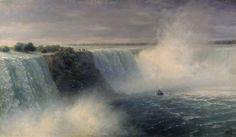 Ниагарский водопад. 1892 - Айвазовский Иван Константинович