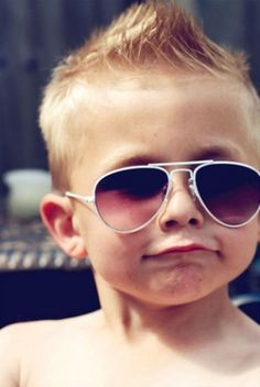 Omg he just screams my child!!!!! Hahaha too adorable! Can't you just see the resemblance?! He even has the right glasses! Future son right here everyone! :)