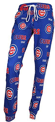 Ladies Chicago Cubs Royal Sweep Sleep Pants  http://allstarsportsfan.com/product/ladies-chicago-cubs-royal-sweep-sleep-pants/  Machine Washable on Cold, Feminine Fit Body Officially Licensed Chicago Cubs Ladies Apparel Made by College Concepts for Female Cubs Fans