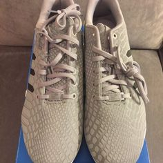 Adidas ZX Flux Brand new. Reflective Adidas Shoes Athletic Shoes