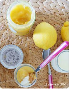 Panna cotta #citron #coco aux fausses allures de tarte au citron! #crème