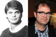 Rainn Wilson in a 1984 Senior Yearbook Photo