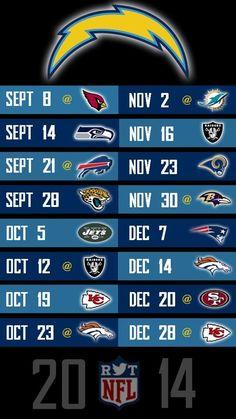 2014 Season! GO CHARGERS