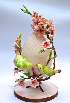 it's Easter . by Eleonora Massari Egg Crafts, Easter Crafts, Diy And Crafts, Easter Ideas, Art D'oeuf, Ostern Wallpaper, Easter Flower Arrangements, Bird Cakes, Diy Ostern