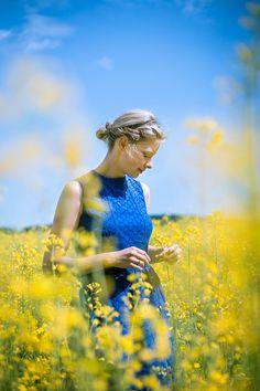 Shooting im Rapsfeld #photography #outdoor #woman #flowers #field