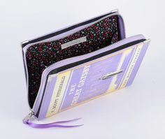 In light of the upcoming movie release.  The Great Gatsby Book Clutch. €60.00, via Etsy.