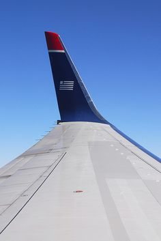 US Airways winglet Us Airways, Civil Aviation, Aeroplanes, Window Seats, Airports, Military Aircraft, Airplane View, The Past, Wings
