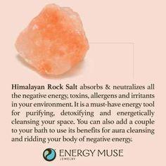 Himalayan Rock Salt Crystals   #crystalhealing
