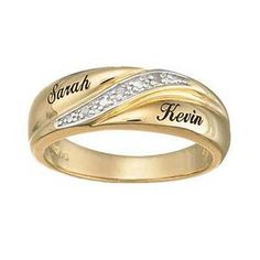 Rings With Names Engraved On Them