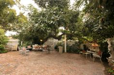The side patio/ Bar Area at Wilcox Manor - Tustin, CA