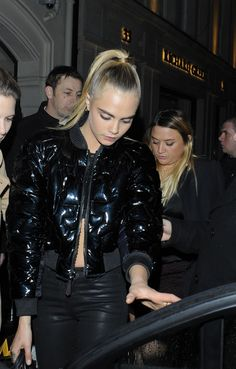 Victoria S Secret Wrap London  Cara Delevingne