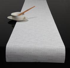 white table runner - Google Search